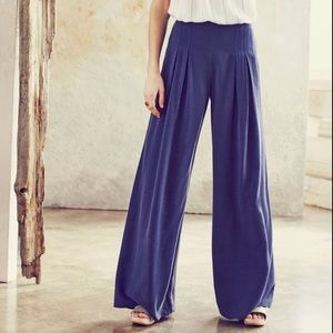 Anthropologie Elevenses Pleated High Waist Pants